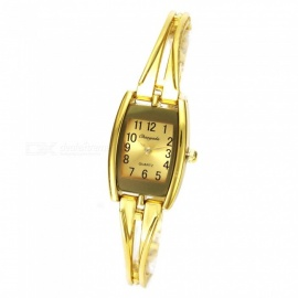 Chaoyada 1152 Women's Elegant Bracelet Quartz Watch - Golden