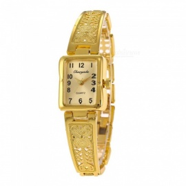 Chaoyada 1155 Women's Elegant Bracelet Quartz Watch - Golden