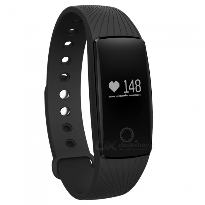 Eastor V05C IP65 Waterproof Bluetooth V4.0 Smartband Bracelet w/ Sedentary Reminder, Sleep Monitor, Pedometer - BlackSmart Bracelets<br>Form  ColorBlackModelV05CQuantity1 pieceMaterialABSShade Of ColorBlackWater-proofIP65Bluetooth VersionBluetooth V4.0Touch Screen TypeYesOperating SystemNoCompatible OSAndroid iOSBattery Capacity70 mAhBattery TypeLi-polymer batteryStandby Time1200 hoursPacking List1 x Smart band1 x Charging Cable (15cm)<br>
