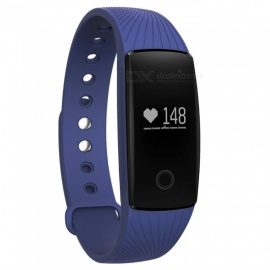 Eastor V05C IP65 Waterproof Bluetooth V4.0 Smartband Bracelet w/ Sedentary Reminder, Sleep Monitor, Pedometer - Blue