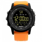 EX17 Sports Bluetooth Intelligent Waterproof IP67 Smartwatch with Alarm Clock Pedometer - Orange