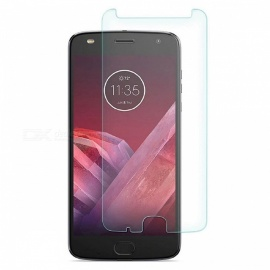 9H hardhet 0.2mm herdet glass skjermbeskytter film for motorola moto Z2 play