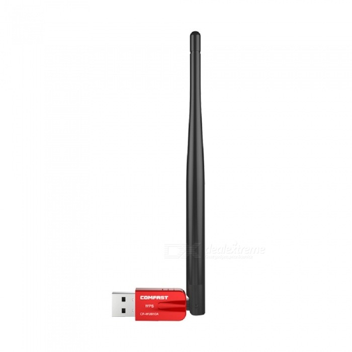 COMFAST CF-WU910A Drive-free Version USB Bluetooth 4.0 Wireless Card, 600Mbps 2.4GHz & 5.8GHz Wi-Fi Receiver