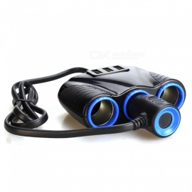 MAIKOU 3.1A Dual Core Car Cigarette Lighter with 3 USB Ports