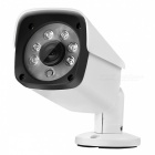COTIER 1080P HD POE (Power Over Ethernet) Security IP Camera for Outdoor Home Surveillance - White (EU Plug)