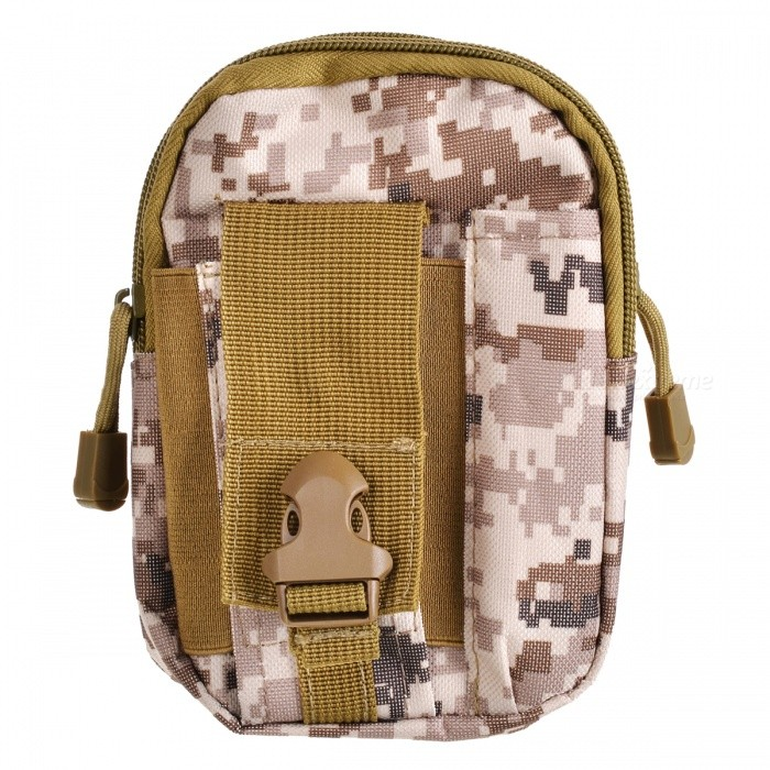 Waterproof Oxford Cloth Tactical Molle Waist Belt Bag for Small Gadgets, 5.5 / 6 PhoneForm  ColorCamouflage YellowBrandOthers,Others,N/AModelNoQuantity1 DX.PCM.Model.AttributeModel.UnitMaterialOxford clothTypeHiking &amp; CampingGear Capacity0~20 DX.PCM.Model.AttributeModel.UnitCapacity Range0L~20LRaincover includedNoBest UseFamily &amp; car camping,MountaineeringPacking List1 x Bag<br>