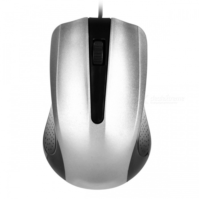 YR-3008 USB 2.0 Wired Optical Gaming Mouse for Computer PC - SilverUSB Mouse<br>Form  ColorSilverQuantity1 DX.PCM.Model.AttributeModel.UnitMaterialABSShade Of ColorSilverInterfaceUSB 2.0Wireless or WiredWiredOptical TypeLEDMax Acceleration1000 dpiButton life5millionPowered ByUSBBattery included or notNoSupports SystemWin xp,Win 2000,Win 2008,Win vista,Win7 32,Win7 64,Win8 32,Win8 64,MAC OS X,IOS,LinuxPacking List1 x USB Mouse<br>