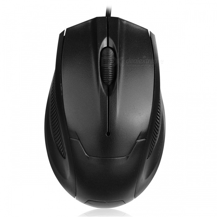 FC-3012 Portable Mini Optical USB Wired Mouse for Laptop Computer - BlackUSB Mouse<br>Form  ColorBlackQuantity1 DX.PCM.Model.AttributeModel.UnitMaterialABSShade Of ColorBlackInterfaceUSB 2.0Wireless or WiredWiredOptical TypeLEDMax Acceleration1000 dpiButton life3millionPowered ByUSBBattery included or notNoSupports SystemWin xp,Win 2000,Win 2008,Win vista,Win7 32,Win7 64,Win8 32,Win8 64,MAC OS X,IOS,LinuxForm  ColorBlackPacking List1 x USB Mouse<br>