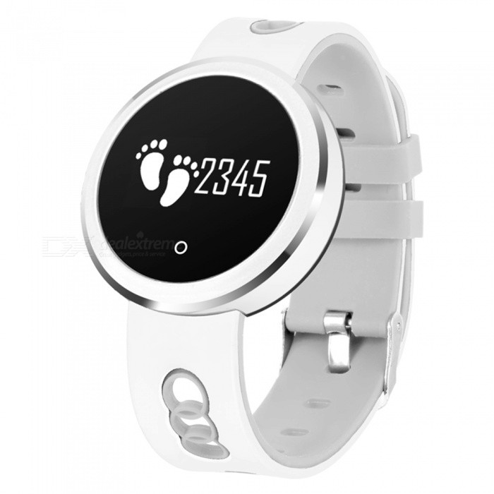 Q7 IP68 Waterproof Bluetooth V4.0 Smart Watch Fitness Bracelet with Heart Rate / Sleep Monitoring - WhiteSmart Bracelets<br>Form  ColorWhite + MulticolorQuantity1 DX.PCM.Model.AttributeModel.UnitMaterialABSShade Of ColorWhiteWater-proofIP68Bluetooth VersionBluetooth V4.0Touch Screen TypeYesCompatible OSiOS8.0 and above, Android 4.4 and aboveBattery Capacity110 DX.PCM.Model.AttributeModel.UnitBattery TypeLi-polymer batteryStandby Time5-7 DX.PCM.Model.AttributeModel.UnitForm  ColorWhite + MulticolorPacking List1 x Smart Bracelet1 x USB Charging Cable1 x User Manual<br>