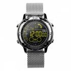 EX28A Sports IP67 Waterproof Smart Watch with Pedometer - Silver