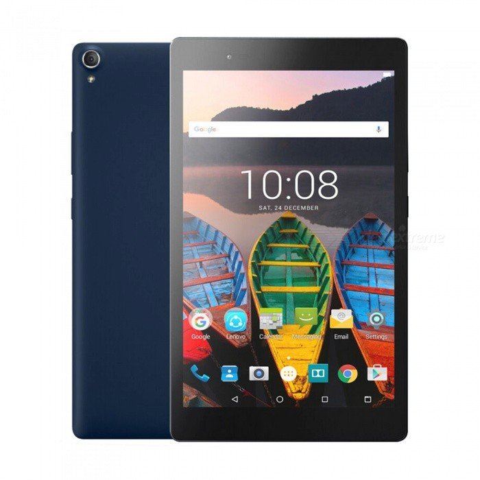 Lenovo P8/TB-8703F Snapdragon 625 Octa-Core Android 6.0 8 Tablet PC w/ 3GB RAM, 16GB ROM - Blue (US Plug)Android Tablets<br>Form  ColorBlueForm  ColorBlueBrandOthersModelP8Quantity1 setMaterialMetalProcessor BrandQualcommProcessor ModelOthers,Qualcomm Snapdragon 625Processor Speed2 GHzNumber of CoresOcta-CoreBuilt-in Memory / RAMOthers,3GBCapacity / ROM16GBScreen Size8.0 inchesScreen Size7 inches &amp; UnderScreen TypeIPSTouch TypeCapacitive screenResolution1920 x 12003G TypeNoOperating SystemAndroid 6.0Supported NetworkWifiGPSYesWi-Fi StandardOthers,802.11 b/g/n/acBluetooth VersionBluetooth V4.0Interface1 x 3.5mmCamera type2 x CamerasFront Camera Pixels5.0 MPBack Camera Pixels8.0 MPExternal Memory Max. SupportOthers,128 GBPower AdapterUS PlugSupported LanguagesEnglish,Simplified ChineseBattery Capacity4250 mAhBattery TypeLi-ion batteryWorking Time28 hoursStandby Time96 hoursOther Features8  IPS + Android6.0 + 3GB RAM + 16GB ROM + Wi-Fi  +  5.0MP Front camera+ 8.0MP Rear camera + 4250mAh battery + Octa-Core + Bluetooth 4.0Packing List1 x Tablet1 x US Plug Power Adapter1 x User manual1 x Warranty manual<br>