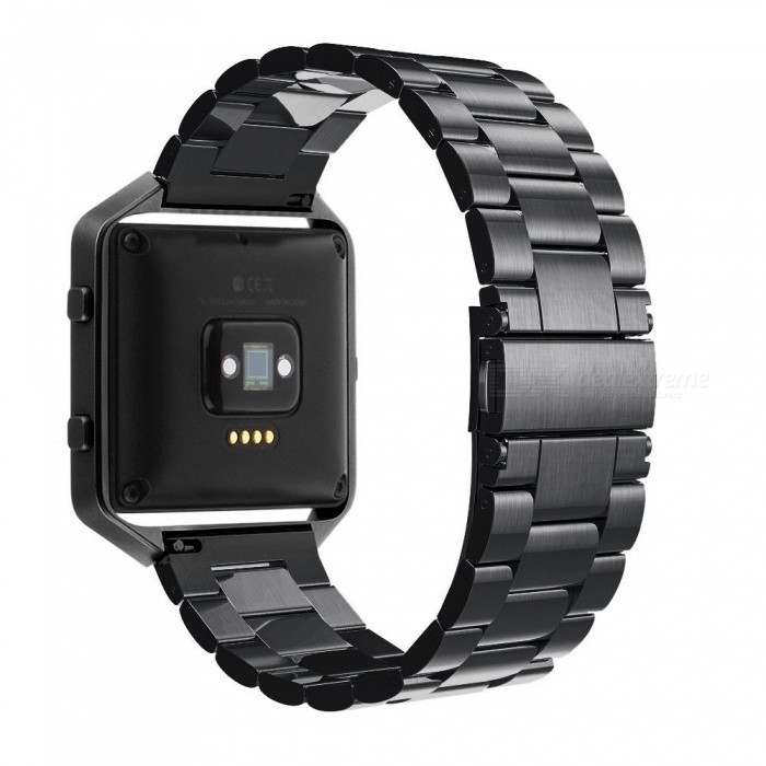 Miimall Frame Housing + Stainless Steel Bracelet Replacement Strap Watch Band for Fitbit Blaze - BlackWearable Device Accessories<br>Form  ColorBlackModelFitbit Blaze BandsQuantity1 setMaterialStainless steelPacking List1 x Stainless Steel Watch Band for Fitbit Blaze1 x Metal Frame for Fibit Blaze1 x Starp Removal Tool Set1 x Link Remover Introduction Card<br>