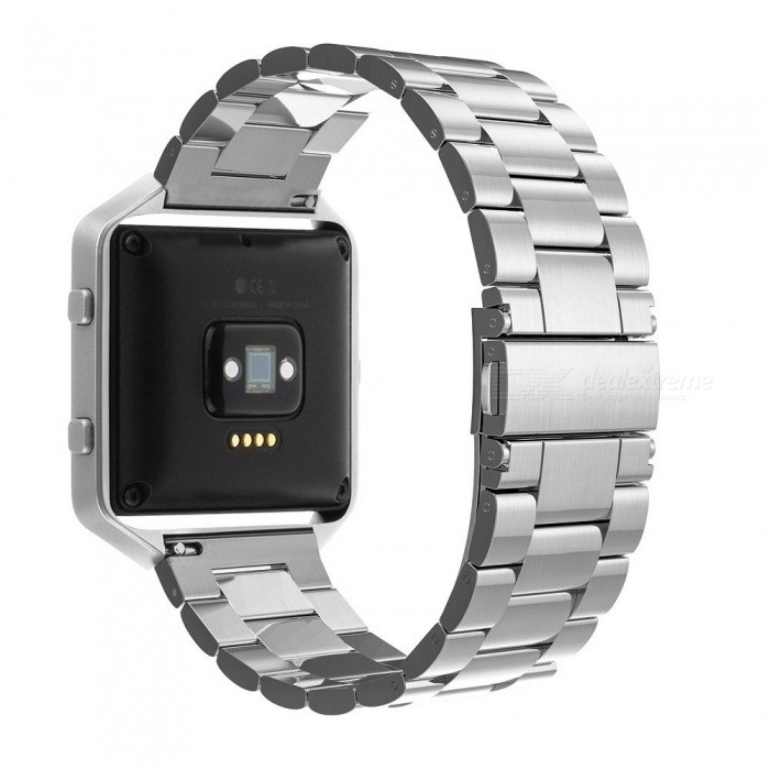Miimall Frame Housing + Stainless Steel Bracelet Replacement Strap Watch Band for Fitbit Blaze - SilverWearable Device Accessories<br>Form  ColorSilverModelFitbit Blaze BandsQuantity1 setMaterialStainless steelPacking List1 x Stainless Steel Watch Band for Fitbit Blaze1 x Metal Frame for Fibit Blaze1 x Starp Removal Tool Set1 x Link Remover Introduction Card<br>