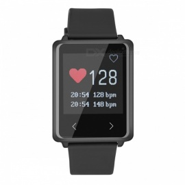 "Z8 1.44"" TFT BT4.0 Smart Bracelet with Heart Rate / Distance / Calorie / Message Push / Call Reminder - Black"