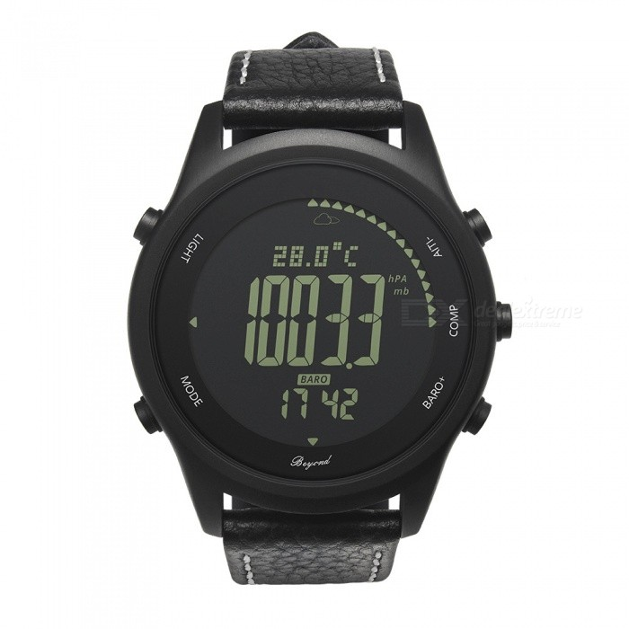 S3 Waterproof Smart Watch w/ GPS, Heart Rate, Sleep Monitoring, Anti-Lost Functions - BlackSmart Watches<br>Form  ColorBlackModelS3Quantity1 setMaterialABSShade Of ColorBlackCPU ProcessorSI-BW03Screen Size1.3 inchesScreen Resolution240*240Bluetooth VersionBluetooth V4.0Compatible OSAndroid Android 4.0 or above; iOS 9.0 or aboveLanguageEnglishWristband Length22 cmWater-proofIP67Battery ModeNon-removableBattery TypeCR2032 batteryStandby Time6 monthsPacking List1 x Smart Watch1 x Manual<br>