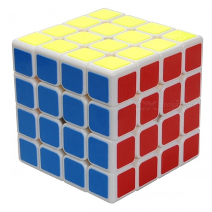 MoYu AoSu 62mm 4x4x4 Smooth Speed Magic Cube Puzzle Toy for Kids, Adults - WhiteMagic IQ Cubes<br>Form  ColorWhite (62mm)ModelN/AMaterialABSQuantity1 pieceType4x4x4Suitable Age 3-4 years,5-7 years,8-11 years,12-15 years,Grown upsPacking List1 x Magic Cube1 x English + Chinese Manual<br>