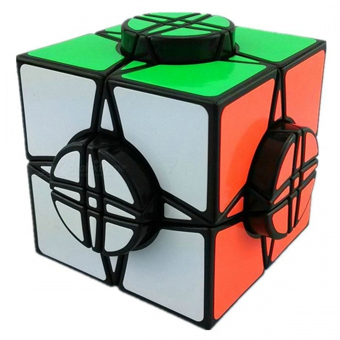 MoYu Wheel of Time Black 76mm Smooth Speed Magic Cube Finger Puzzle Toy - BlackMagic IQ Cubes<br>Form  ColorBlack (76mm)ModelN/AMaterialABS PlasticQuantity1 DX.PCM.Model.AttributeModel.UnitTypeOthers,Shaped RubikSuitable Age 3-4 years,5-7 years,8-11 years,12-15 years,Grown upsPacking List1 x Magic Cube1 x English + Chinese Manual<br>