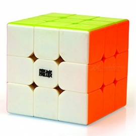 MoYu DianMa 57mm 3x3x3 Smooth Speed Magic Cube Puzzle Toy - Colorful