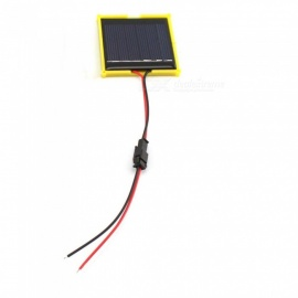 3V 100MA Solar Panel (SM Line), No Need Soldering - Black