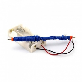 Magnetoelectric Experiment DIY Handmade Small Invention Magnet Kit Toys - Blue + Multicolor