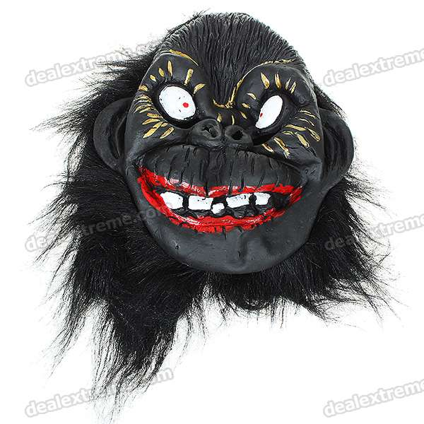 Scary Gorilla King Kong Figure Mask Headgear (Style Assorted)