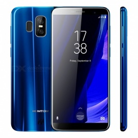 """HOMTOM S7 5.5"""" 640*1280 HD IPS 18:9 Full Display Phone with 3GB RAM + 32GB ROM - Silver"""