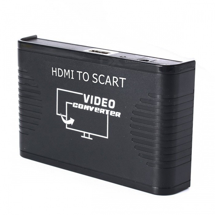 BSTUO HDMI to SCART Full HD 1080P Digital High Definition Video Converter - US Plug