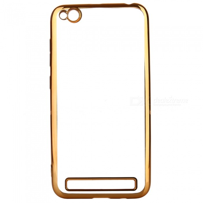 ASLING Transparent Back Case Electroplating TPU Soft Cover Protector for Xiaomi Redmi 5ATPU Cases<br>Form  ColorGoldenModelASL-Redmi 5AMaterialTPUQuantity1 DX.PCM.Model.AttributeModel.UnitShade Of ColorGoldCompatible ModelsRedmi 5APacking List1 x Protective Case<br>