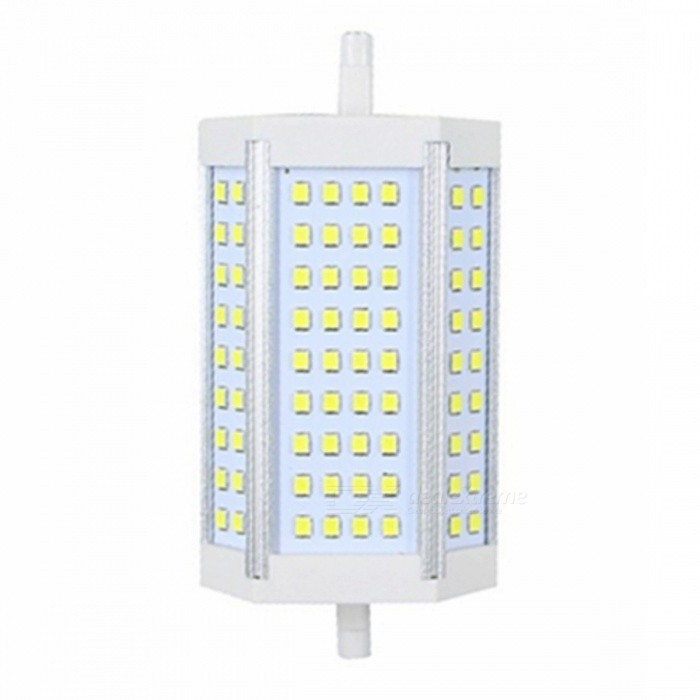 ZHAOYAO R7S 20W 85-265V 2835SMD-72LEDs LED Light - Cold WhiteColor BINCold WhiteColor BINCold WhiteMaterialAluminiumForm  ColorWhiteQuantity1 DX.PCM.Model.AttributeModel.UnitPowerOthers,20WRated VoltageAC 85-265 DX.PCM.Model.AttributeModel.UnitConnector TypeOthers,R7SChip Type2835SMDEmitter TypeLEDTotal Emitters72Actual Lumens30-2000 DX.PCM.Model.AttributeModel.UnitColor Temperature6000KDimmableNoOther Features5500-7000KPacking List1 x LED Lamp<br>