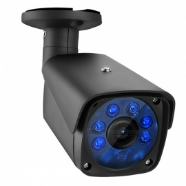"COTIER 1080P 2.0MP Bullet Security CCTV Camera with 1/2.7"" CMOS 3.6mm Lens for DVR Surveillance System - Black (US Plug)"