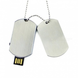Maikou Metal USB 2.0 Waterproof U Disk, USB Flash Drive - Silver (8GB)