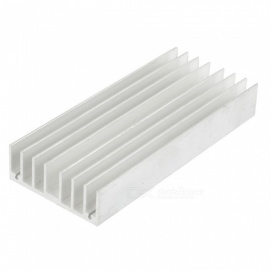 RXDZ 130x56x20mm Aluminum Cooling Fin Heat Sink