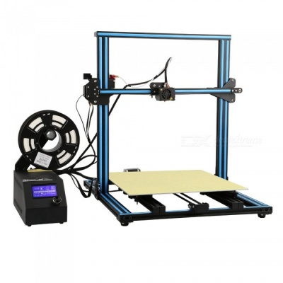 Creality3D CR - 10 Enlarged 3D DIY Desktop Printer Kit - Blue (US Plug)