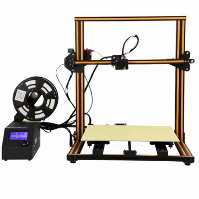 Creality 3D CR - 10 Enlarged 3D DIY Desktop Printer Kit - Orange (US Plug)