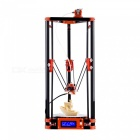 FLSUN 3D Printer Delta Kossel DIY Kit with Large 3D Printing Size Updated Nuzzle System Heated Bed Auto Leveling - UK Plug