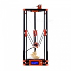 FLSUN 3D Printer Delta Kossel DIY Kit with Large 3d Printing Size Updated Nuzzle System Heated Bed Auto Leveling - AU Plug