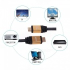 1.5m Nylon-braided High Speed HDMI 2.0 Cable, Supports 4K 2160P, HD 1080P 3D, Ethernet