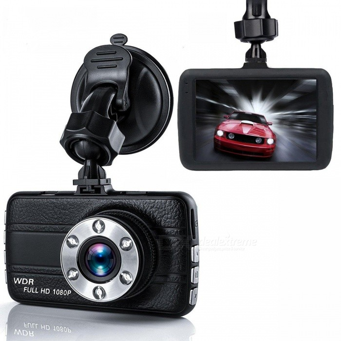 H311 Portable HD 1080P 3.0 Screen Car DVR - BlackCar DVRs<br>ColorBlackModelH311Quantity1 DX.PCM.Model.AttributeModel.UnitMaterialABSChipsetOthers,Union Wing 223Other FeaturesOthers,1, video resolution: 1920 * 1080,1440 * 1080,1280 * 720 2,3,0-inch screen 3,140 ° wide-angle 4, support for SD / MMC card up to 32GB 5, with recording 6, built-in lithium Battery 7, Video Format: AVI 8, Picture Format: JPGWide Angle120°-149°Camera Pixel0.3MPWide Angle140°Video FormatAVIVideo ResolutionOthers,1920*1080,1280*960640*480ImagesJPGStill Image ResolutionOthers,1920*1080,1280*960640*480MicrophoneYesG-sensorYesMax. Capacity32GBStorage ExpansionTFData interfaceMini USBMenu LanguageOthers,English, Multi-LanguagePacking List1 x DVR Car1 x Car Charger1 x USB Cable1 x Bracket1 x Manual<br>