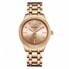 CURREN 9010 Stylish Quartz Watch for Women - Rose Gold