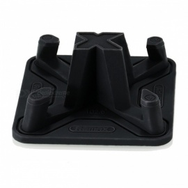 Remax Soft Silicone Anti-Slip Car / Desk Phone Holder Stand for IPHONE 7 5s 6 Samsung Smart Mobile Phones, Tablet Black