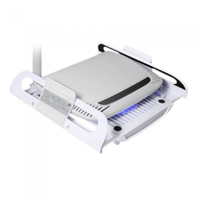 Portable Radiator Cooler Pad for Router, TV Set-Top Box - WhiteOther Accessories<br>Form  ColorWhiteForm  ColorWhiteModelNoQuantity1 DX.PCM.Model.AttributeModel.UnitMaterialABSCompatible BrandOthers,Routers, TV set-top boxOther FeaturesN/APacking List1 x Radiator1 x USB Cable<br>