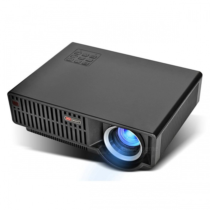 VIVIBRIGHT C90 1280x800P HD Video Projector for Home Theatre - Black (EU Plug)Projectors<br>ColorBlackBrandVivibrightModelC90Quantity1 pieceMaterialABS+PCShade Of ColorBlackOperating SystemNoTypeLCDChipsetMStarBrightness3000~3999 lumensBrightness3500 lumensMenu LanguageEnglish,French,German,Italian,Spanish,Portuguese,Russian,Polish,Greek,Danish,Norwegian,Dutch,Slovak,Czech,Swedish,Finnish,Chinese Simplified,Bulgarian,SerbianBuilt-in SpeakersYesLife Span30000 hoursEmitter BINLEDDisplay Size28-180inchesAspect RatioOthers,16:9/4:3Contrast Ratio2200:1Pixels1280*800*3PixelNative Resolution1280*800Maximum Resolution1080PMaximum Resolution1920*1080Throw Distance1.2-5.5MBuilt-in Memory / RAMNoStorageNoAudio FormatsMP3,WMA,AC3,AACVideo FormatsRMVB,AVI,MKV,MOV,MP4,VOB,MPEG1,MPEG2Picture FormatsJPEG,BMP,PNG,GIFInput ConnectorsAV,VGA,USB,HDMIInput Connectors2 x HDMI Port, 1 x VGA/PC-RGB, 1 x AV/Video, 2 x USB A(Ready)Output ConnectorsAudio OutPower Consumption80W &amp; OverPower Consumption170wPower Supply90-240VPower AdapterEU PlugCertificationCE/FCC/ROHSPacking List1 x Projector1 x Remote controller (battery is not included) 1 x VGA cable1 x 3 in 1 AV cable1 x User manual1 x Power cable<br>