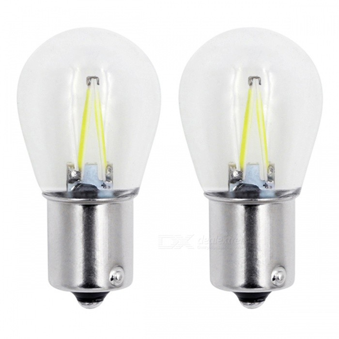 JRLED 1156 3W Yellow Light COB LED Stoplight, Reversing Lamp (2 PCS)Tail Lights<br>Emitting ColorYellowModel1156 LEDQuantity2 piecesMaterialAluminum alloy + glassPower3 WWorking VoltageDC12-24VConnectorOthers,1156Bulb SpecificationCOBBrightness200lmColor BIN2000KApplicationBrake BulbSuitable forUniversalCertificationCE ROHSOther FeaturesThis product uses the BDO arrived 820, the flip chip, with high brightness, high temperature characteristics, high penetration of the lampshade is made of glassIts a perfect choice for a car StoplightPacking List2 x 1156 LED Lights<br>