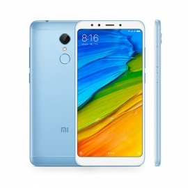 Xiaomi Redmi 5 5.7 Inches 18:9 Display Snapdragon 450 Octa-Core 4G Smartphone with 2GB RAM 16GB ROM - Blue