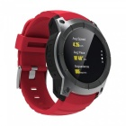 Eastor S958 Waterproof Smart Watch w/ GPS, Pedometer, Fitness Tracker, Heart Rate Monitor, Support SIM TF - Red