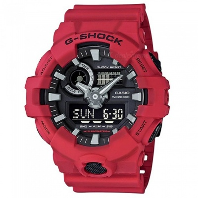 Casio G-Shock GA-700-4A Digital Watch - Red