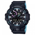 Casio G-Shock GA-700PC-1A Adult's Watch - Black + Blue