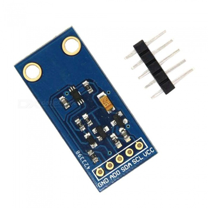 Produino GY-30 BH1750FVI Digital Light Intensity Sensor Module for i2C Raspberry Pi ArduinoSensors<br>Form  ColorBlueModelGY-30Quantity1 DX.PCM.Model.AttributeModel.UnitMaterialPCBApplicationThis is an I2C based light sensor.<br>BH1750FV Ambient Light Sensor Module GY-30 for Arduino &amp; Raspberry PiWorking Voltage   3-5 DX.PCM.Model.AttributeModel.UnitEnglish Manual / SpecNoDownload Link   NOPacking List1 x Module<br>