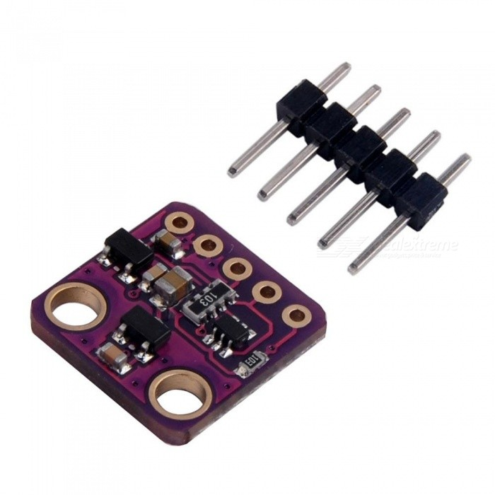 Produino GY-MAX30102 Heart Rate Click Sensor Breakout Sensor Module for ArduinoSensors<br>Form  ColorPurpleModelGY-MAX30102Quantity1 DX.PCM.Model.AttributeModel.UnitMaterialPCBApplicationWearables;<br>Heart-rate monitor;<br>Pulse oximeter;Working Voltage   3.3 DX.PCM.Model.AttributeModel.UnitEnglish Manual / SpecNoDownload Link   NOPacking List1 x Module<br>