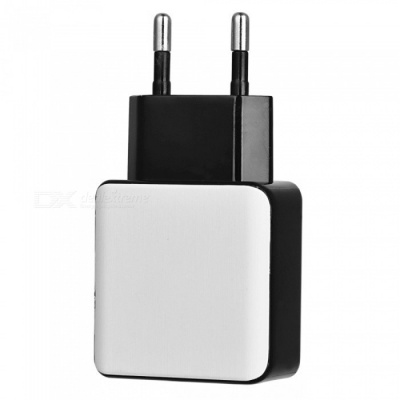 QC 3.0 5V 3A Quick Charge EU Plug USB AC Charger USB Wall Charger - White + Black
